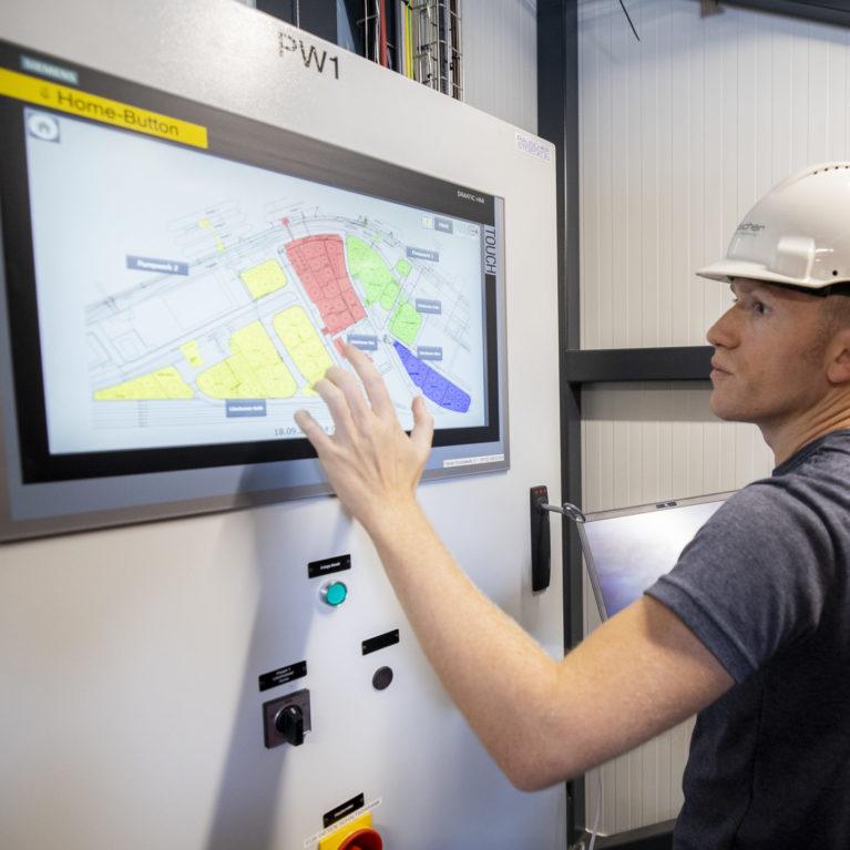 Automation TAU Tanklager Auhafen